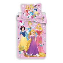 Jerry Fabrics Bavlněné povlečení Princezny Pink 02, 140x200 cm