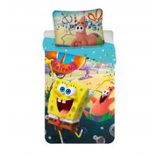 Jerry Fabrics Bavlněné povlečení Sponge Bob Movie, 140x200 cm