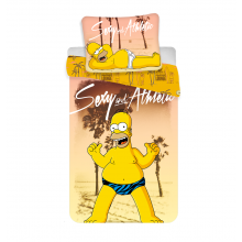 Jerry Fabrics Bavlněné povlečení Homer Beach, 140x200 cm