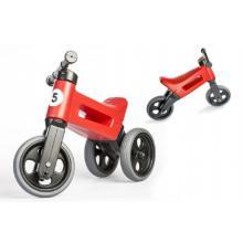 Teddies Odrážedlo červené FUNNY WHEELS Rider Sport 2v1 18m+ v sáčku