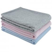 Esito Jarní dětská deka dvojitá plyš jednobarevná