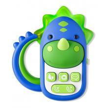 Skip Hop Hračka hudební telefon Dinosaurus 6m+