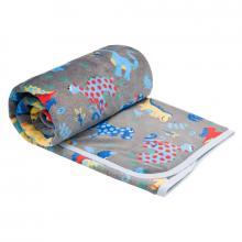 Esito Dětská deka jednoduchá Dinosaurus 75x100 cm
