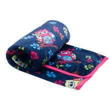 Esito Dětská deka jednoduchá Sova 75x100 cm