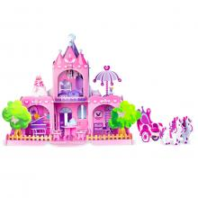 Fiesta Crafts 3D puzzle - Zámek pro princeznu