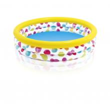 Intex Bazén dětský s puntíky nafukovací 147x33 cm