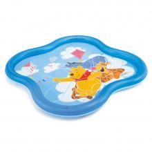 Intex Nafukovací bazén Medvídek Pú se sprškou 140 x 140 x 10 cm