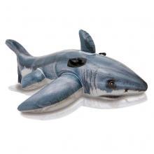 Intex Nafukovací hopsadlo žralok 173 x 107 cm