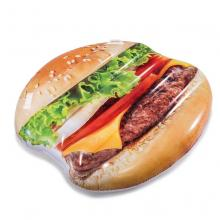 Intex Nafukovací lehátko Hamburger 145 x 142 cm