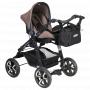 Komfortní autosedačka skupiny 0+, vhodná pro děti od 0 do 13 kg, s nízkou hmotností pro snadné přenášení.