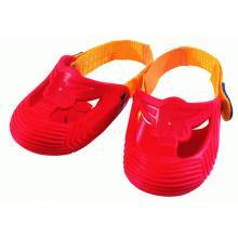 BIG Ochranné návleky na botičky, červené