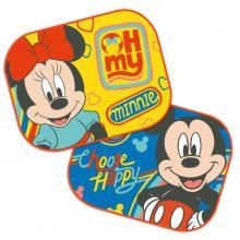 Seven Sluneční clony Mickey a Minnie 2 ks