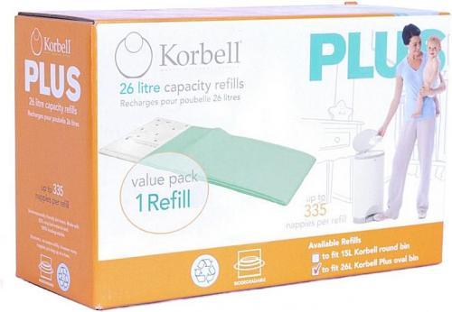 Korbell náhradní náplň do koše Plus