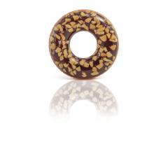 Intex Nafukovací kruh čokoládový donut 114 cm, od 9 let