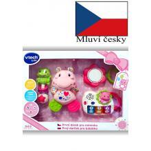 Vtech První dárek pro miminko (CZ) - růžový