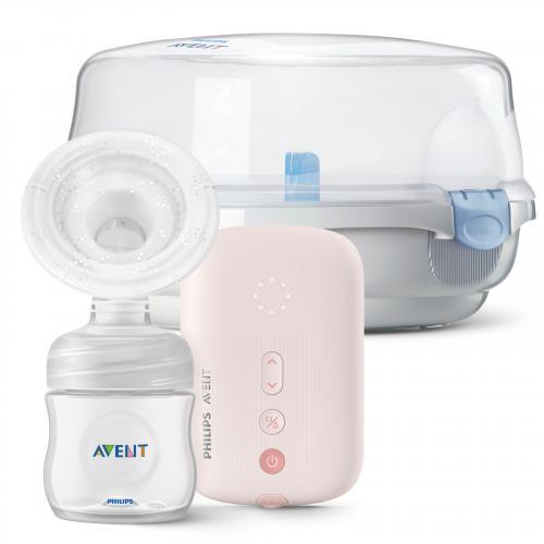 Philips Avent Odsávačka mateřského mléka elektronická Single SCF395