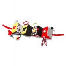 BabyOno Plyšová edukační hračka Omnibus C-More Collection