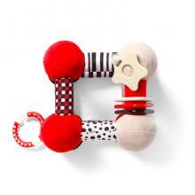 BabyOno Hračka edukační plyšová Tiny Yoga Cube C-More Collection