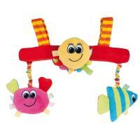 Canpol babies plyšová hračka do kočárku oceán