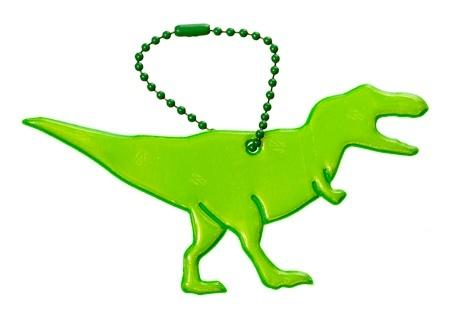 Glimmis reflexní přívěsek dinosaurus Tyrannosaurus zelený