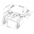 Závěsné stupátko pro přepravu druhého dítěte (2-5 let) do váhy 20 kg. Možnost připevnění k většině dětských kočárků s rozpětím trubek 31-54 cm, snadné upevnění pomocí ojedinělého systému LASCAL EASY-FIT™.