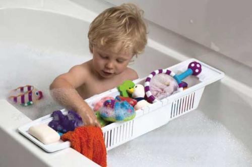 BabyDan odkládací nastavitelný košík na vanu