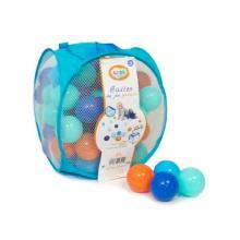 Ludi Míčky modré/oranžové 75 ks