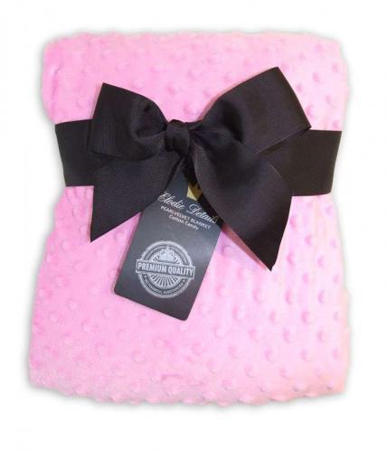 Elodie Details sametová deka Cotton Candy