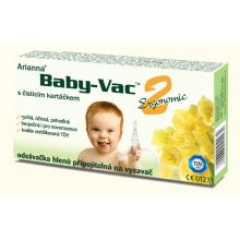 Arianna Baby-Vac 2 Ergonomic odsávačka hlenů s čisticím kartáčkem