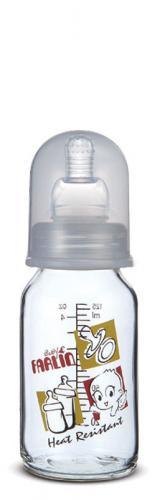 Farlin kojenecká láhev skleněná 120 ml 0m+