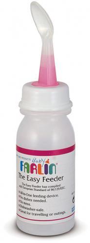 Farlin kojenecká lahev se lžičkou 180 ml 4m+