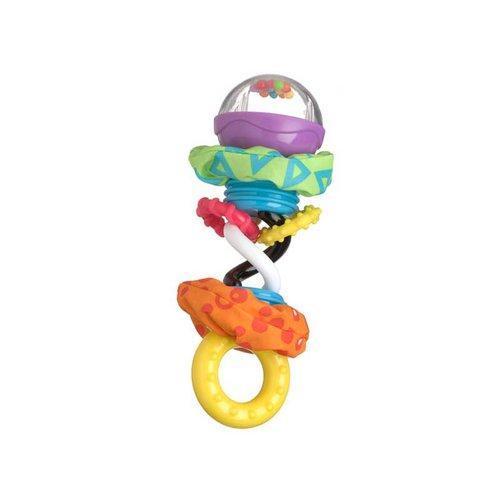 Playgro Kroucené chrastítko s kuličkami