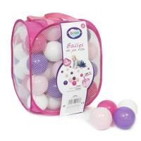 Ludi míčky růžové/fialové 75 ks