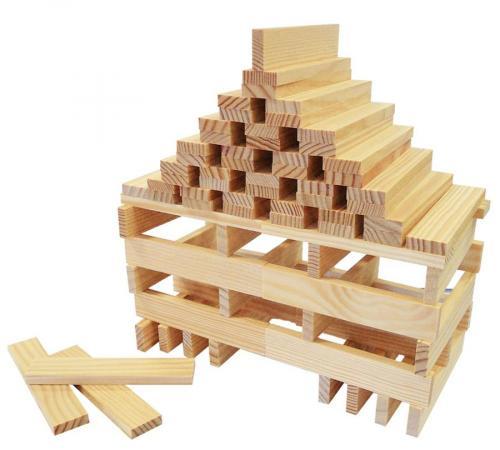 Ludi Dřevěná stavebnice žirafa