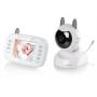 """Elektronická dětská VIDEO chůvička s vysoce kvalitní LCD obrazovkou (3,5""""/8,9 cm), spolehlivý příjem do vzdálenosti 300m, signální světla na rodičovské jednotce se rozsvítí, když dítě začně vydávat zvuky, obousměrná komunikace, noční vidění pomocí 6 LED, 2× ZOOM funkce s digitálním natočením obrazu, noční světlo a jemné melodie, indikace pokojové teploty."""