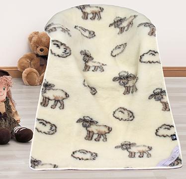 Bellatex dětská deka vlněná - ovečky