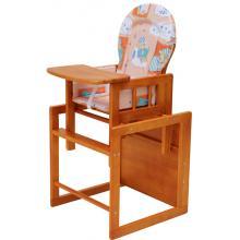 Jídelní židlička Scarlett  Kombi 75-11 W borovice olše