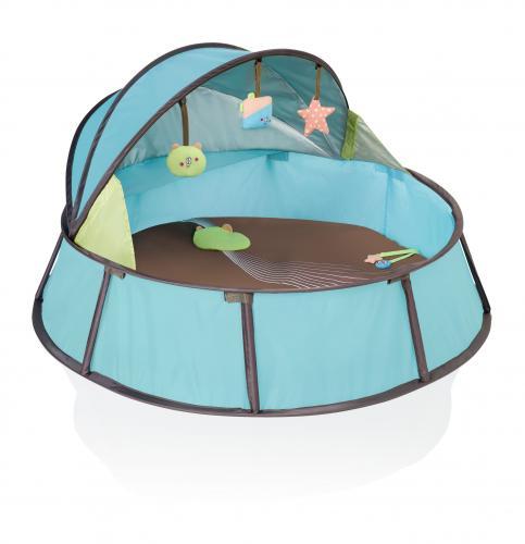 Cestovní postýlka Babymoov Babyni Premium Blue/Taupe