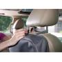 Praktický organizér Brica na zadní stranu sedadla vám nabídne uzavíratelný prostor vše, čím chcete zabavit vaše dítě během cestování autem. Do průhledné kapsy s dotykově citlivou fólií můžete vložit tablet. Navrženo pro použití s i bez sluchátek. Tablet dítě zabaví během dlouhé cesty, organizér jej přitom chrání před poškozením. Organizér dále nabízí pouzdro na čisticí ubrousky, držák na lahvičku a mnoho kapes pro další potřeby na cestování a zabavení dítěte. Zapnutím zipu na organizéru velmi snadno skryjete jeho obsah. Pevný, omyvatelný materiál chrání sedadlo před okopáním a ušpiněním. Organizér se snadno přichytí k přednímu sedadlu s pomocí univerzálních úchytů.