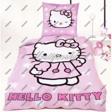 Matějovský Bavlněné povlečení do postýlky Hello Kitty 130x90 cm