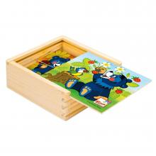 Bino moje první puzzle Baribal