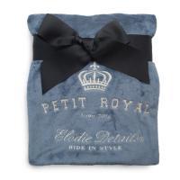 Elodie Details sametová deka Petit Royal Blue