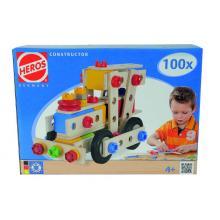 HEROS Konstrukční set Constructor 100 dílů