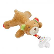 Fehn Oskar hračka na dudlík medvídek velký