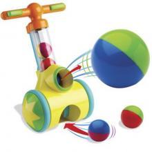 Chodítko TOMY Toomies s vystřelovacími míčky