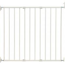 BabyDan zábrana Pet Gate Streamline, kov bílá 63,5-107 cm, šroubovací