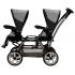 Kočárek Duette Pop-Up byl navržen pro dvojčata nebo sourozence podobného věku. V ceně kočárku je podvozek Duette, dvě sportovní nástavby Pop-Up včetně nánožníků, extra velký nákupní koš.