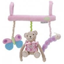 Pioupiou Závěsná hračka na postýlku Balli růžová