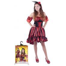 Karnevalový kostým tanečnice Sally pro dospělé, vel. M