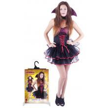 Karnevalový kostým upírka sexy pro dospělé/Halloween, vel. M